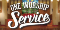 One Worship Service